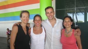 Sharon, Dr. Moratto, Dr. Moratto & Joanne